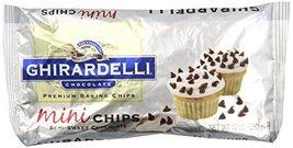 Ghirardelli Chocolate Baking Mini Chips, Semi-Sweet Chocolate, 10 oz., 6 Count - $42.40