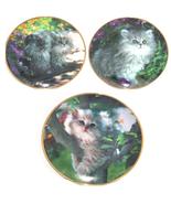 Persian Cat Kittly Collector Plate Franklin Mint Nancy Matthews - $81.36