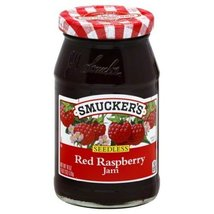 Smuckers Jam Seedless 18 Oz (Pack of 4) (Red Raspberry) - $38.66