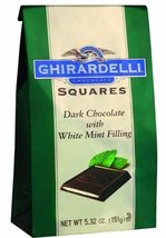 Ghirardelli, Dark Chocolate Mint Filled Squares, 5.32oz [pack of 3] - $32.62