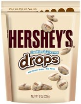 HERSHEY'S Cookies 'n' Crme DROPS, Solid White Chocolate Candy with Crunc... - $30.57