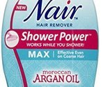 Nair Shower Power Max with Moroccan Argan Oil, 13 oz