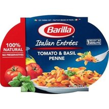 Barilla 100% Natural Microwaveable Ready Meals, Tomato & Basil 9 oz(Pack... - $27.47