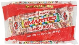 Smarties Candy Rolls, 16 Ounce (Pack of 12) - $93.67
