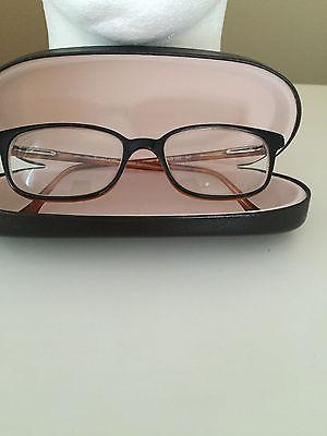 1979538c67e Vintage POLO RALPH LAUREN 285 Brown Italy Designer Eyeglass Tortoise Frames  140m