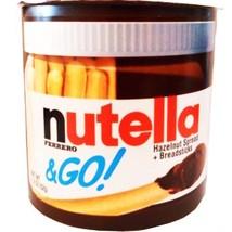 Nutella & Go Hazelnut Spread Breadsticks Net Wt 1.8 Oz (52g) (Pack of 6) - $25.92