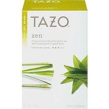 Tazo Zen Green Tea with Lemongrass & Spearmint, 20-Count Tea Bags (Pack ... - $55.79
