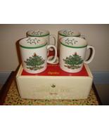Spode Christmas Tree Mugs Set Of 4 - $22.99
