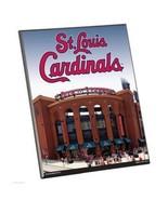 "MLB St Louis Cardinals Stadium Premium 8"" x 10"" Solid Wood Easel Sign - $9.95"