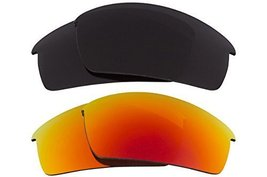 New SEEK Replacement Lenses Oakley THUMP PRO - Polarized Grey Red - $33.15