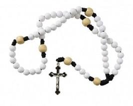 Golf Rosary with a FREE St. Sebastian (patron saint of athletes) prayer card. - $8.95
