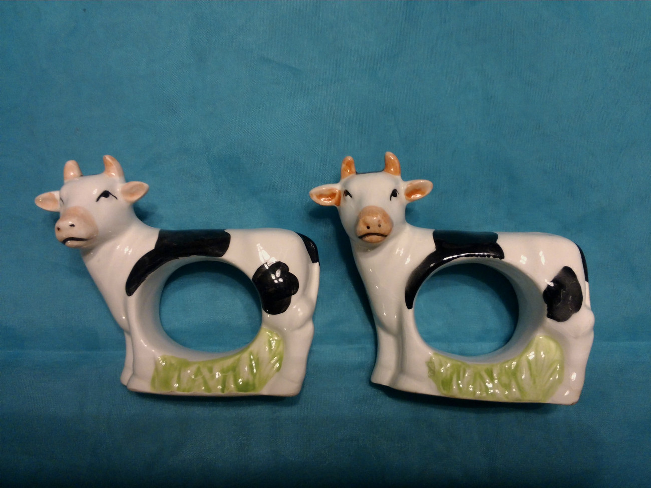 Primary image for Cow Napkin Holders Set of 2