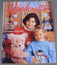 Country Handcrafts Winter 1994 - Warm up winter with Knitting, Crocheting - $8.86