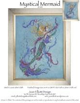 Mystical Mermaid JE089 cross stitch chart Joan Elliott Designs - $14.00
