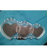 Mikasa Rosemont Glass Triple Heart Picture Frame - $27.25