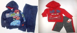 Disney Cars Toddler Boys 2 Piece Hoodie Outfit Size 3T NWT - $13.99