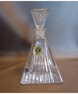 Set of 2 Matching Gorgeous Vintage Art Deco Style RCR Italy Crystal Perf... - $34.99