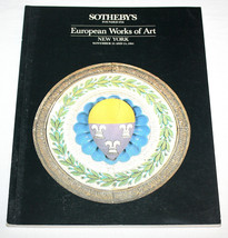 Sothebys Catalogue European Works Art Brown Univ MOMA Pitcairn Princeton... - $15.99