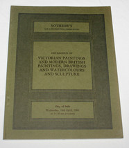 Sothebys Victorian Modern British Paintings Drawing Watercolours Sculptu... - $13.99