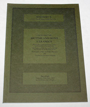 Sothebys Auction Catalogue British Irish Ceramics London 24 July 1984 - $12.99