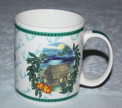 Hilo Hattie Mug Kaua'i Hawaii Hawaiian Ceramic 2002 Island Heritage - $19.31