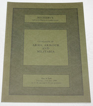Sothebys Catalogue Antique Arms Armour Militari... - $12.99