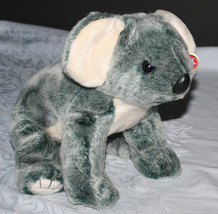 Eucalyptus Koala 1999 Gray White Ty Beanie Buddy Buddies Retired Tush & ... - $9.50