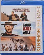 Butch Cassidy & Sundance Kid/Good, Bad and the Ugly/Magnificent Seven 3 Blu-ray