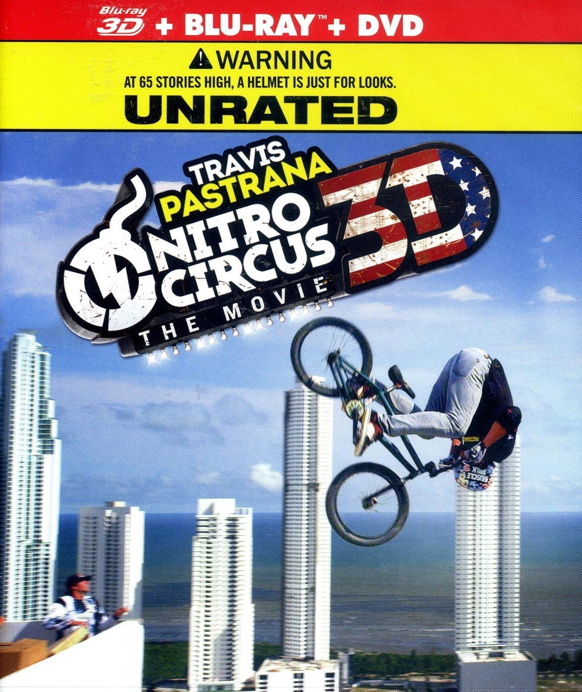 Nitro Circus: The Movie (Blu-ray/DVD, 2012, Unrated; 3D) (Blu-ray/DVD, 2012)