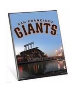 "MLB San Francisco Giants Stadium Premium 8"" x 10"" Solid Wood Easel Sign - $9.95"