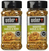 Weber Seasoning, Roasted Garlic and Herb, 7.75 Ounce - 2 Pack - $21.61