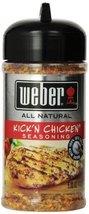 Weber Grill Seasoning Kickn Chicken, 5-Ounce (Pack of 4) - $27.91