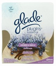 Glade Plug In Scented Oil, Lavendar and Vanilla, 2-Count Boxes  (Pack of 6) - $68.76