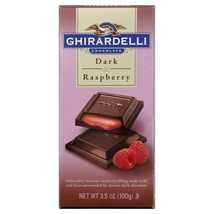 Ghirardelli Choc Bar Drk Raspbry 3.5OZ - $9.60