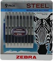 Zebra F-301 Ball Point Pens - 9 Pack (2 Pack) - $41.53