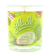 Glade Limited Edition Scented Candle Sparkle of Spring with Zesty Lime G... - $18.76