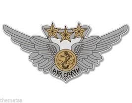 "NAVY MARINE CORPS COMBAT AIRCREW STICKER USMC WING 6"" USA MADE STICKER D... - $13.53"