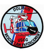 USCG HH-65 Dolphin Rescue Law Enforcement Patch NEW!!! - $11.87