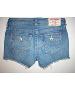 New Girls True Religion NWT Denim Jean Shorts 1... - $169.00