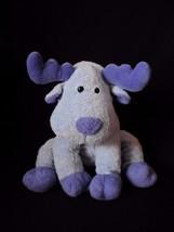 """TY PLUFFIES Pluffy BLOOSE Blue Elk MOOSE 9"""" Deer Plush Stuffed 2006"""" - $19.55"""