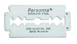 Personna Double Edge Prep Razor - Model 74-0002 - 25 Blades - $16.95