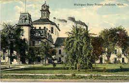 State Prison Jackson Michigan Vintage 1915 Post Card - $5.00