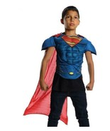 Superman Child Printed Muscle Chest Top No Stuffing Size 4-6 - $7.52