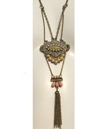Tiered Tassel Pendant Necklace by Jill Schwartz... - $66.66