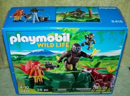 Playmobil Wild Life Gorillas and Okapis with Fi... - $19.50