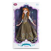 Limited Edition Anna Doll - Frozen Fever 17'' NRFB 2015 Forever friend Disney - $215.00