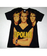 THE POLICE greatest hits, big print subway official T shirt MEDIUM, Sting - $22.00