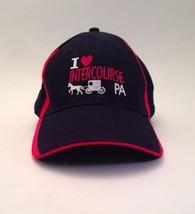 I love Intercourse Pennsylvania PA Cap Hat Black One Size USA State - $24.18