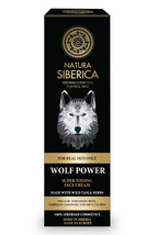 3x WOLF POWER SUPER TONING FACE CREAM For Men Natura Siberica Anti Aging - $79.90