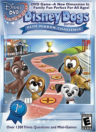 Disney DVD Game World: Disney Dogs Edition (DVD, 2006)
